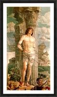 San Sebastiano Picture Frame print