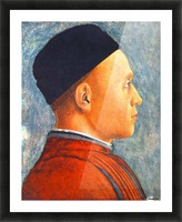 Portrait of a Young Man Picture Frame print
