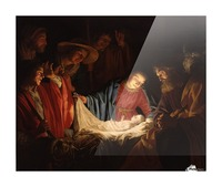 Adoration of the Shepherds Picture Frame print