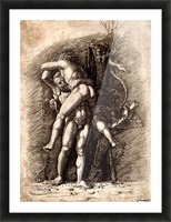Hercules and Antaeus Picture Frame print