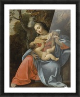 Madonna and Child Picture Frame print