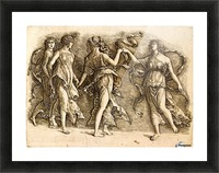 Four Muses Picture Frame print