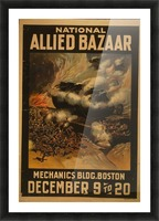 National Allied Bazaar Picture Frame print