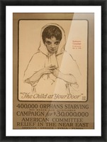Orphans Picture Frame print