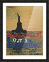 Own a liberty bond Picture Frame print