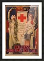 Red Cross Picture Frame print