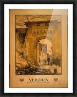 Verdun Picture Frame print