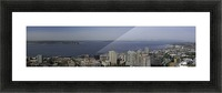 Westward Seattle Panoramic Picture Frame print