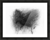 The Raven Picture Frame print