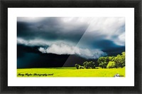 KANSAS STORM ROLLING IN! Picture Frame print