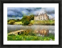 RIPLEY CASTLE 1 Picture Frame print