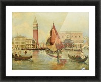 Venice city view Picture Frame print