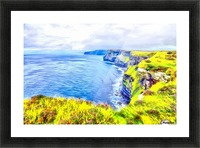 CLIFFS OF MOHER 1 AZO Picture Frame print