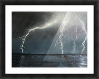 Electric Picture Frame print