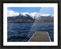 Denver Lake Picture Frame print