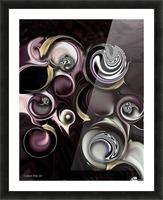 My Sensitive Morphysm Picture Frame print