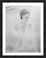 Bride BLG Picture Frame print