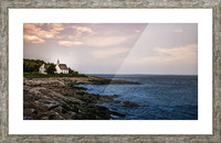 Charlevoix Picture Frame print