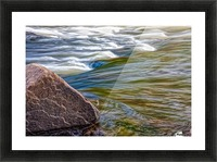 River Flow Picture Frame print