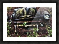 Old Car City  Picture Frame print
