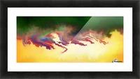 Obadiani V1 - digital abstract Picture Frame print