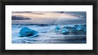 Ice Beach, Iceland Picture Frame print