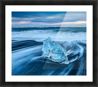 Jokulsarlon Ice Beach, Iceland Picture Frame print