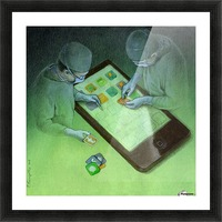 surgery Picture Frame print