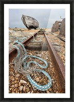 Deserted Dungeness Picture Frame print