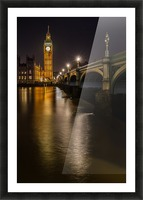Houses of Parliament, London Picture Frame print