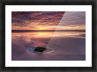 Beach Sunset Picture Frame print