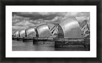 Thames Barrier, London, UK Picture Frame print