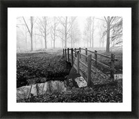 Misty Day Picture Frame print