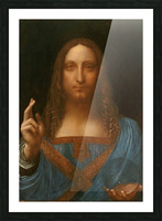 Salvator Mundi Picture Frame print