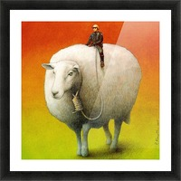 Sheep Control Impression et Cadre photo