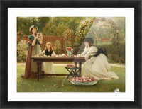 A feast of roses Picture Frame print