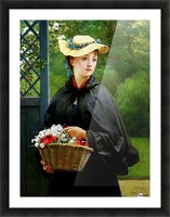 The Gardeners Daughter Picture Frame print