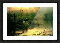 Willow from Hamlet Picture Frame print
