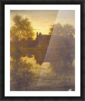 The deserted mill Picture Frame print