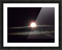 Moon Rise 3 Picture Frame print