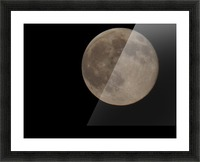 Super Moon 4 Picture Frame print
