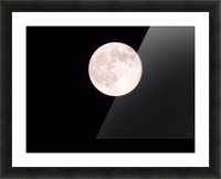 Super Moon 3 Picture Frame print