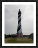Cape Hatteras Lighthouse Picture Frame print