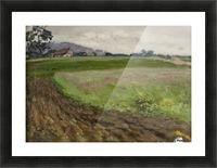 Selskiy peyzazh Picture Frame print