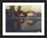 Evening in the Ukraine Picture Frame print