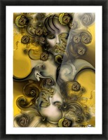 Movement with Venus Picture Frame print