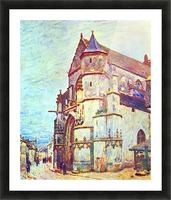 Church of Moret, After the Rain by Sisley Picture Frame print
