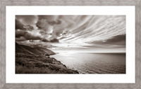 Breakthrough Skies Picture Frame print