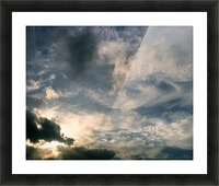 beautiful sky Picture Frame print