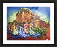 Jour de bal au Château Picture Frame print